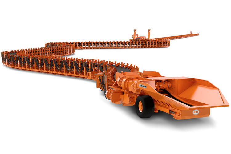 Joy 4fct Flexible Conveyor Train Underground Mining