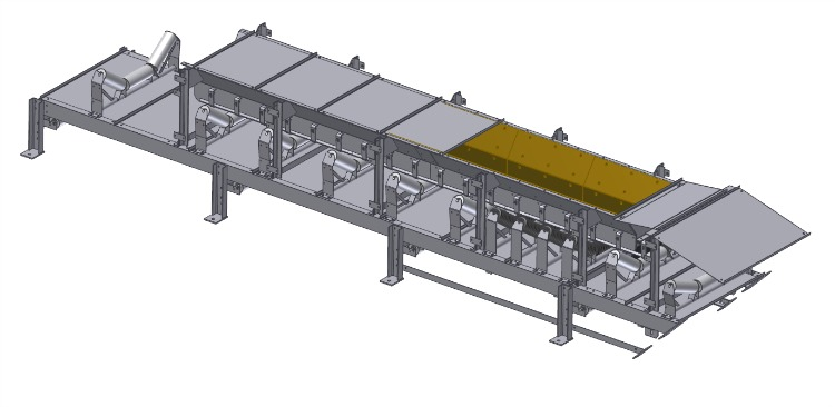 Joy, tunneling conveyors, tail end and loading section - 1
