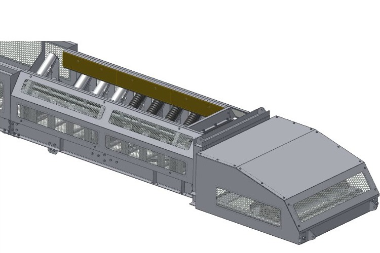 Joy, tunneling conveyors, tail end and loading section