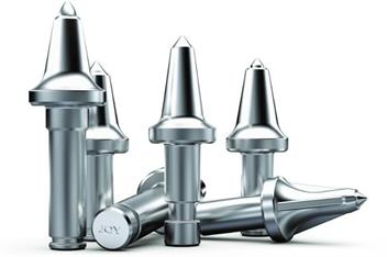 Conical bits standard carbide