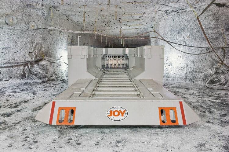 Joy feeder breaker chain