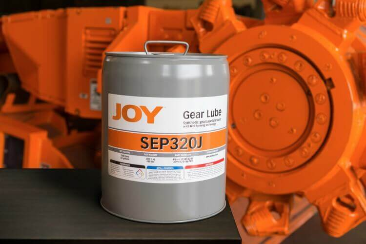 Joy gear lube