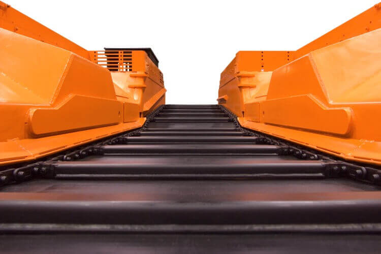 Shuttlecar conveyor chain